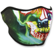 Neon Skull Half Mask  - WNFM098H