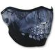 Midnight Skull Half Mask  - WNFM417H