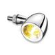 Chrome Front Bullet 1000 Run/Turn Signal - 2552