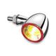 Chrome Rear Bullet 1000 Run/Turn/Brake Light - 2554