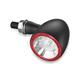 Satin Black Rear Bullet 1000 Run/Turn/Brake Light - 2555