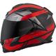 Black/Red EXO-T510 Fury Helmet