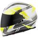 White/Silver EXO-T510 Fury Helmet