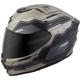 Titanium/Black EXO-R420 Techno Helmet