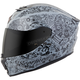 Gray EXO-R420 Shake Helmet