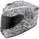 White EXO-R420 Shake Helmet