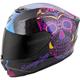 Black/Pink EXO-R420 Sugarskull Helmet