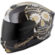 Black/Gold EXO-R420 Sugarskull Helmet