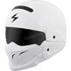Gloss White Covert Helmet