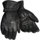Black Custom Middleweight 2.0 Leather Gloves