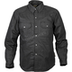 Black Riding Waxed Shirt
