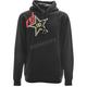 Black Rockstar Pullover Hoody