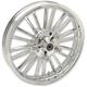Chrome Front 21 x 3.5 Precision Cast Atlantic 3D Wheel (Non-ABS) - 0201-2222