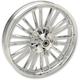 Chrome Front 21 x 3.5 Precision Cast Atlantic 3D Wheel (ABS) - 0201-2223