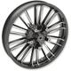 Black Front 21 x 3.5 Precision Cast Atlantic 3D Wheel (Non-ABS) - 0201-2224