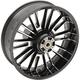 Black Rear Precision Cast 18 x 5.5 Atlantic 3D Wheel (Non-ABS)  - 0202-2113