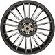 Black Rear Precision Cast 18 x 5.5 Atlantic 3D Wheel (ABS)  - 0202-2114