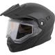 Matte Black EXO-AT950 Snow Helmet
