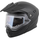 Matte Black EXO-AT950 Snow Helmet w/Electric Shield