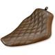 Brown Renegade Lattice Stitch Solo Seat  - 812-16-002BLS