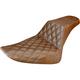 Brown Diamond Lattice Stitch Step-Up Seat - 812-26-172BR