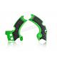 Green/Black X-Grip Frame Guards - 2657591089