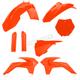 Flo Orange Full Replacement Plastic Kit - 2314344617