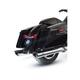 Chrome 4 in. Touring Slip-On Muffler - 550-0695