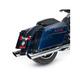 Chrome 4 in. Touring Slip-On Mufflers - 550-0691
