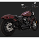 Black Shortshots Staggered Exhaust System - 47233