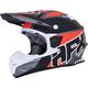 Frost Gray/Red FX-21 Pinned Helmet