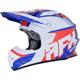 Red/White/Blue FX-21 Pinned Helmet
