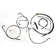 Midnight Series Standard Handlebar Cable/Brake Line Kit w/ABS For Use With 12