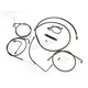 Midnight Series Standard Handlebar Cable/Brake Line Kit w/ABS For 15