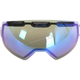 Smoke Blue Mirror Replacement Double Lens for Oculus Goggles - 3891-000-000-009