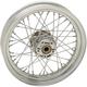 Chrome Front 16x3 40-Spoke Laced Wheel (Non-ABS) - 0203-0631