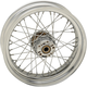 Chrome Rear 17x4.5 40-Spoke Laced Wheel (Non-ABS) - 0204-0523