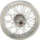 Chrome Rear 16x3 40-Spoke Laced Wheel (Non-ABS) - 0204-0524
