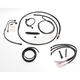 Complete Midnight Series Handlebar Cable/Brake Line Kit for use w/15