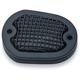 Black Mesh Front Brake Master Cylinder Cover - 6559