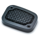 Black Mesh Clutch Master Cylinder Cover - 6563