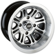 Black Rear 547X 14x8 Wheel - 0230-0904