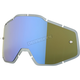 Blue Mirror Injected Anti-Fog Replacement Lens - 51004-022-02