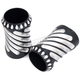 Black Spiral Fork Boot Covers - 12-006