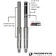 Monotube Fork Cartridge Kit (Lowering Kit) - 31-4007