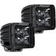 Black D-Series Pro Midnight Edition Spot Lights - 202213BLK