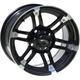 Front/Rear Roll'N 104 Cast Aluminum 15x7 Wheel - 5700-031AB