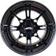 Front Roll'N 108 Cast Aluminum 15x8 Wheel - 5801-032BS