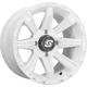 White Front/Rear Sparx 14x7 Wheel - A87W-47056-43S