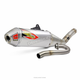 T-6 Stainless/Aluminum/Stainless Exhaust System w/Removable Spark Arrester - 0141845G